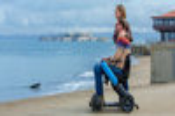 WHILL Model C - High-tech elektrische rolstoel!
