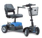 Life & Mobility Vivo - 4 wiel scootmobiel koningsblauw