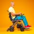 Invacare Kompas - elektrische opvouwbare rolstoel_
