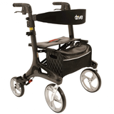 Drive Medical Nitro rollator lichtgewicht Carbon_