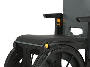 Wheelable accessoire: afdekzitting