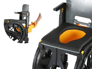 Wheelable accessoire: toiletemmer