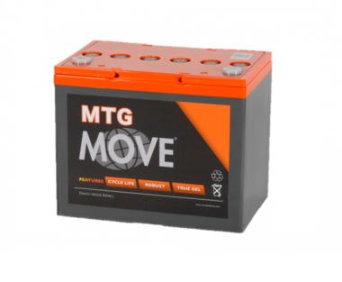 Scootmobiel GEL accu Move MTG 76 | 12 volt - 76 Ah