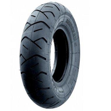 Buitenband 3.50-8 (390x90) sportief profiel - zwart