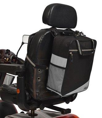 Wheelyscoot rugleuningtas scootmobiel grijs