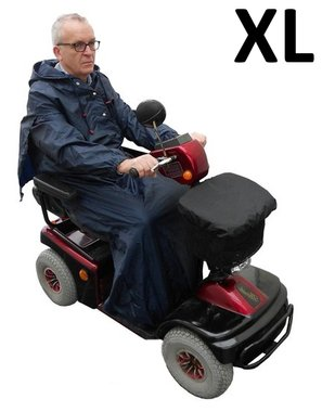 Scootmobiel regencape basis - Extra large