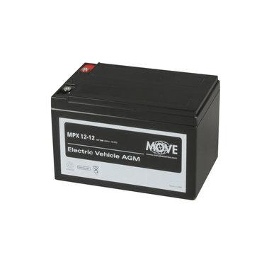 Scootmobiel accu Move MPX 12 | 12 volt - 15 Ah