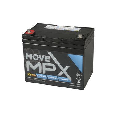 Scootmobiel accu Move MPX 34 | 12 volt - 40 Ah