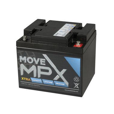 Scootmobiel accu Move MPX 50 | 12 volt - 56 Ah