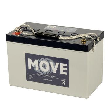 Scootmobiel accu Move MPG 98 | 12 volt - 98 Ah
