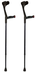 Ossenberg deelbare loopkrukkenset - Carbon zwart