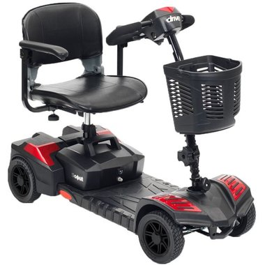 Drive Scout - 4 wiel demontabele scootmobiel