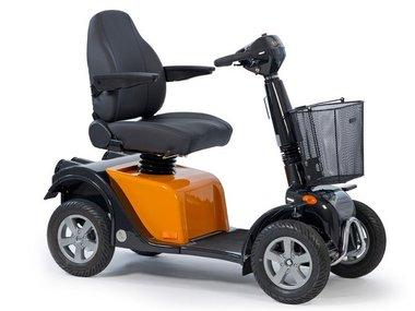 Life & Mobility Solo - 4 wiel scootmobiel oranje