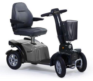 Life & Mobility Mezzo - 4 wiel scootmobiel grijs