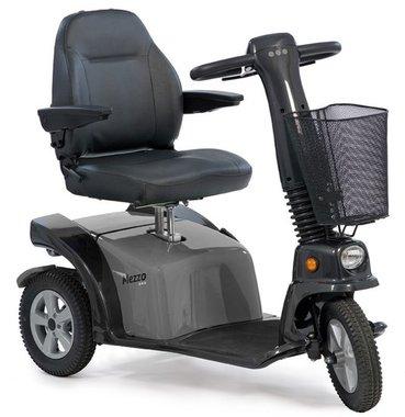 Life & Mobility Mezzo - 3 wiel scootmobiel grijs