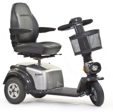 Life & Mobility Primo Arrivo - 3 wiel scootmobiel zilver