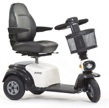 Life & Mobility Primo Arrivo - 3 wiel scootmobiel wit