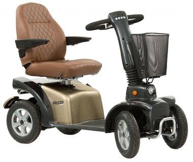 Life & Mobility Mezzo Retro/Rosso - 4 wiel scootmobiel