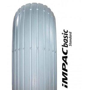 Buitenband 3.00-4 (260x85) lijnprofiel - grijs