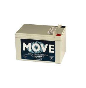 Scootmobiel accu Move accu MPA 12 | 12 volt - 12 Ah