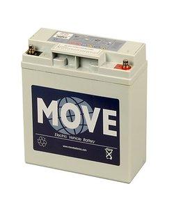 Scootmobiel accu Move MPA 20 | 12 volt - 20 Ah