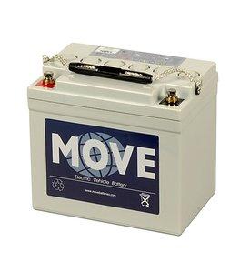 Scootmobiel accu Move MPA 34 | 12 volt - 34 Ah