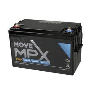 Scootmobiel accu Move MPX 110 | 12 volt - 130 Ah