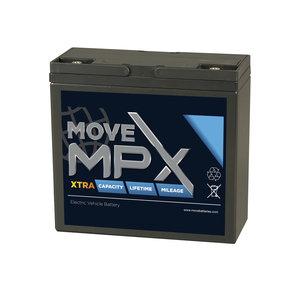 Scootmobiel accu Move MPX 20 | 12 volt - 26,4 Ah